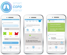 SmartCOPDTrainer App Screens
